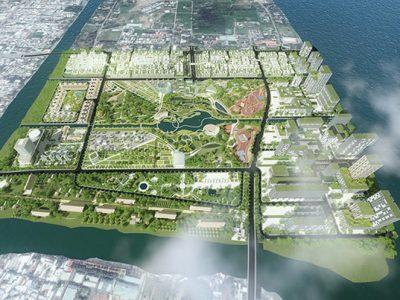 quy hoạch dự án khu đô thị Cồn Khương
