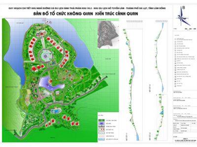 Quy hoach hồ Tuyền Lâm, Đà Lạt