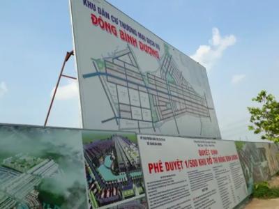 Danh sách dự án chuyển đổi mục đích sử dụng đất tại Dĩ An