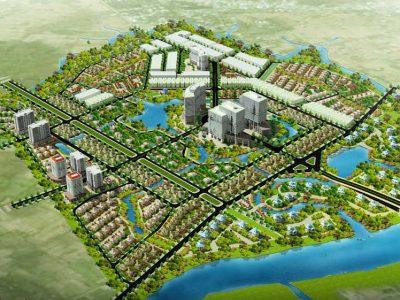 Quy hoạch Dự án The Green Village tại Bình Chánh