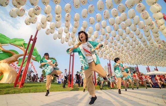 công viên đèn lồng the origami