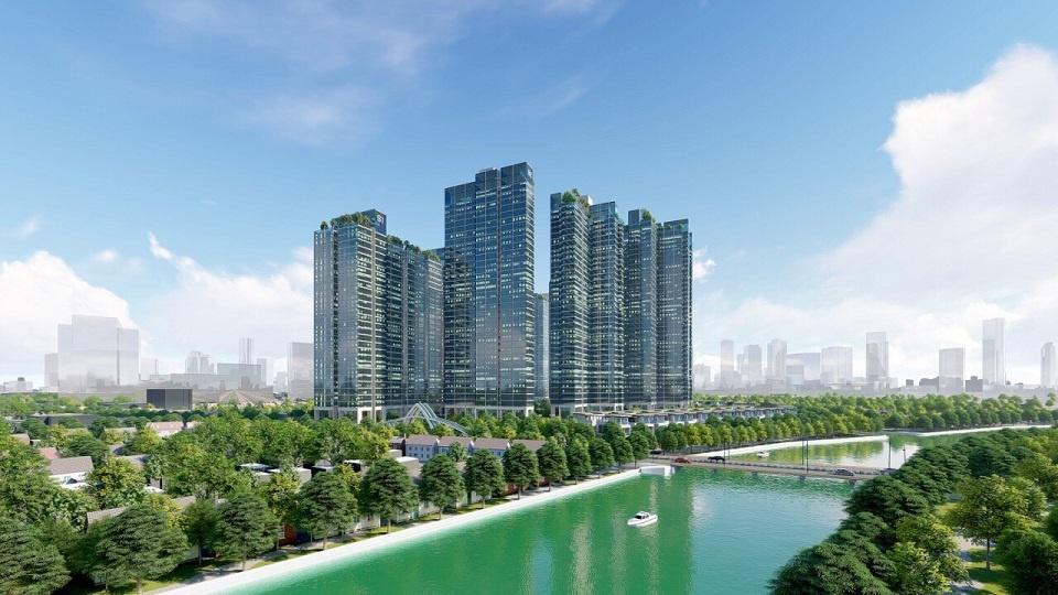 tòa căn hộ S2 Sunshine City Sài Gòn - Tropical Oasis