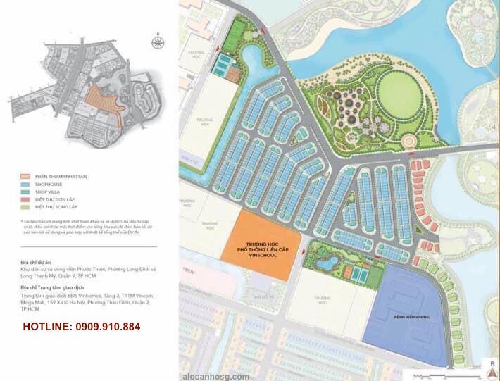 quy hoạch the manhattan vinhomes grand park