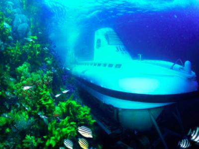 Tàu ngầm DeepView 24 của Vinpearl (thuộc Vingroup)