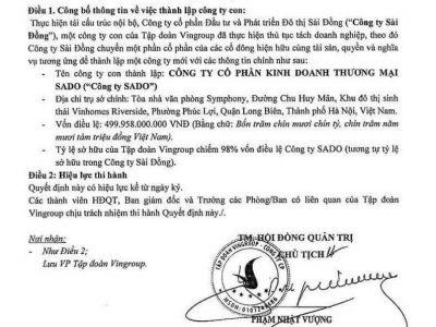 Phạm Nhật Vượng chủ tịch vingroup ký