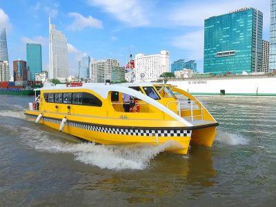 xây dựng 11 bến thủy phục vụ Bus đường sông (Water bus) tại TP HCM