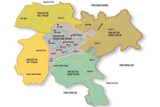 quy hoạch TP.HCM gắn với Thành phố Thủ Đức