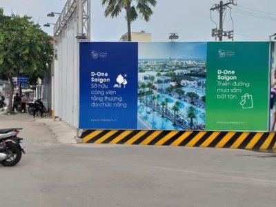 Dự án D-One Sài Gòn xây trái phép trên đất Quốc phòng