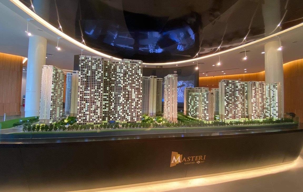mô hình căn hộ Masteri Centre Point