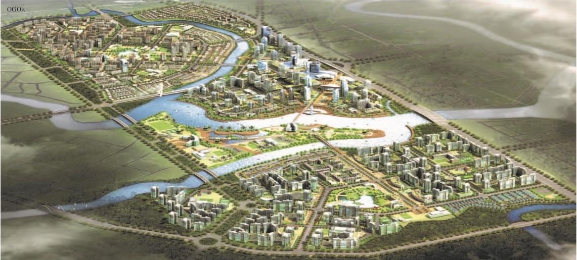 đại đô thị quy mô hàng trăm ha đang triển khai tại TP.HCM