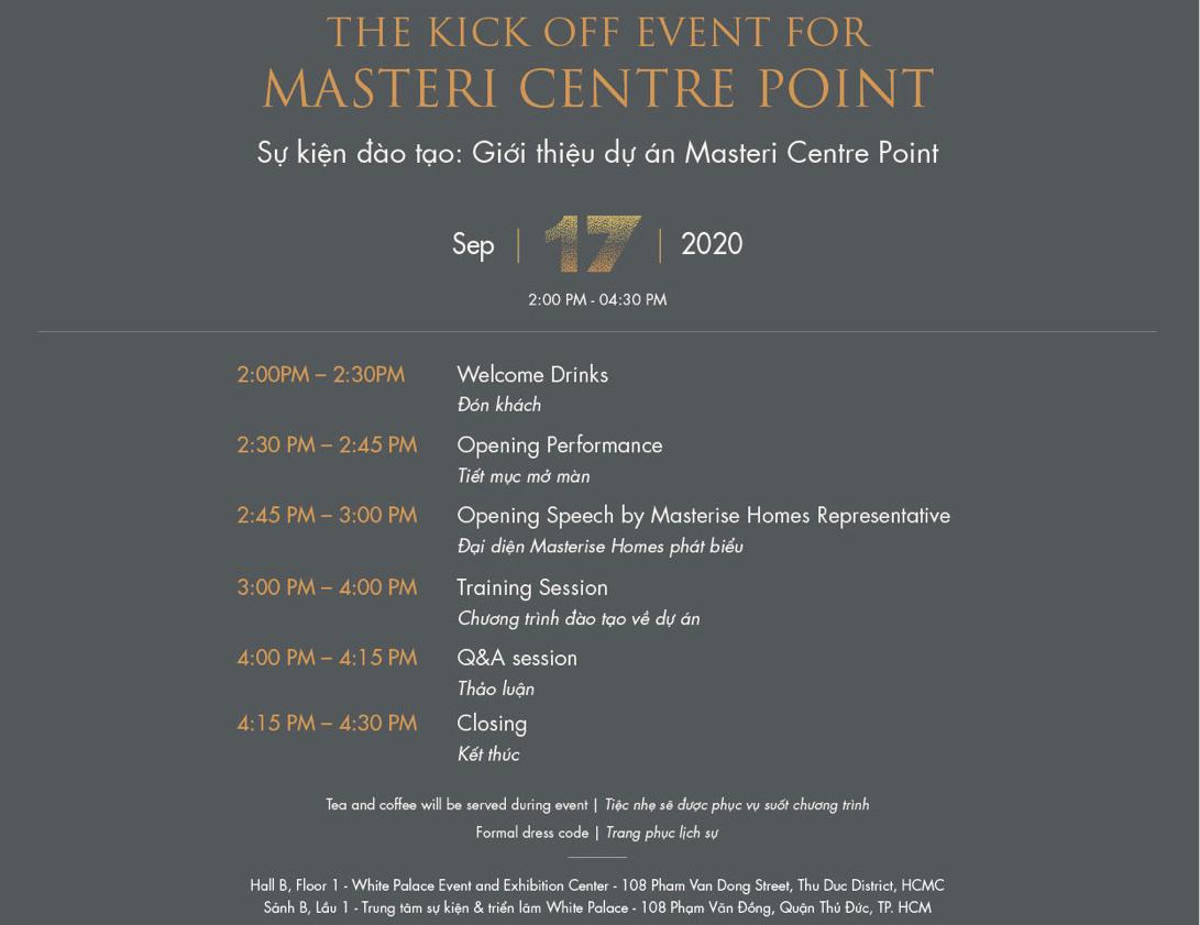 đào tạo tư vấn Masteri Centre Point