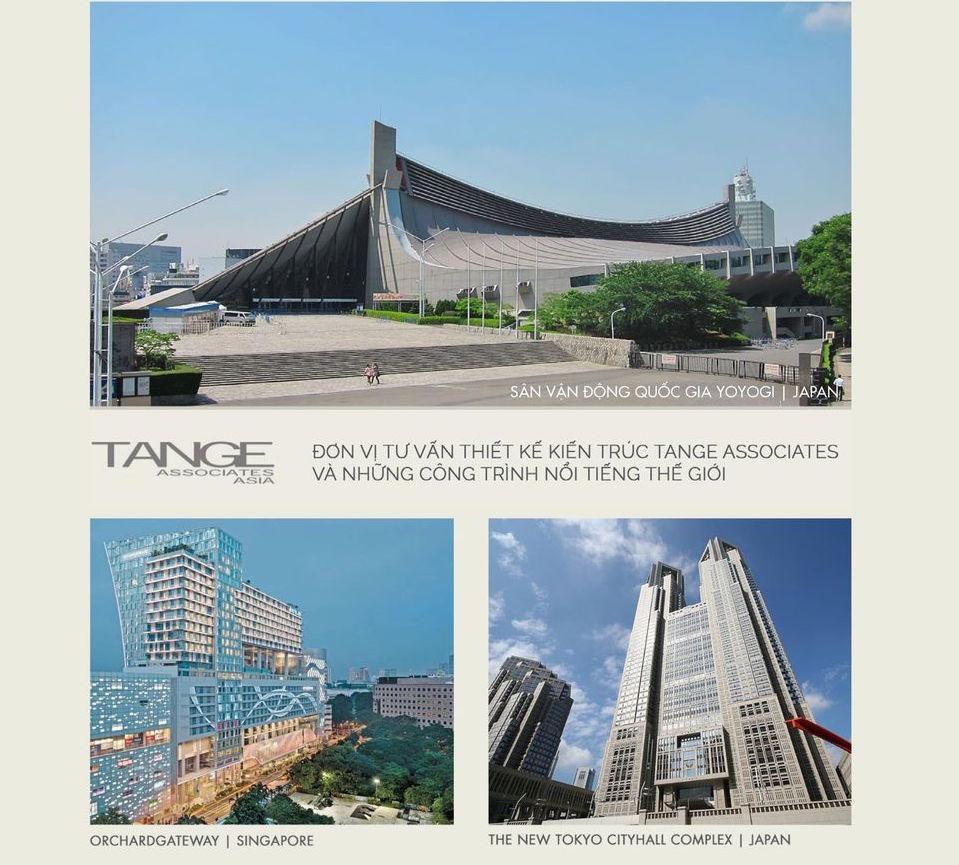 Tange Associates thiết kế Kiến trúc Masteri Centre Point