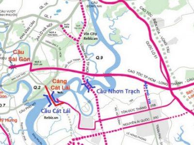 Xây Cầu Nhơn Trạch nối TP.HCM với Đồng Nai quy mô 6 làn xe