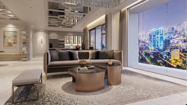 căn hộ mẫu The Grand Manhattan