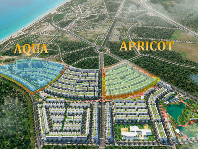 Apricot và Aqua Meyhomes Capital Phú Quốc