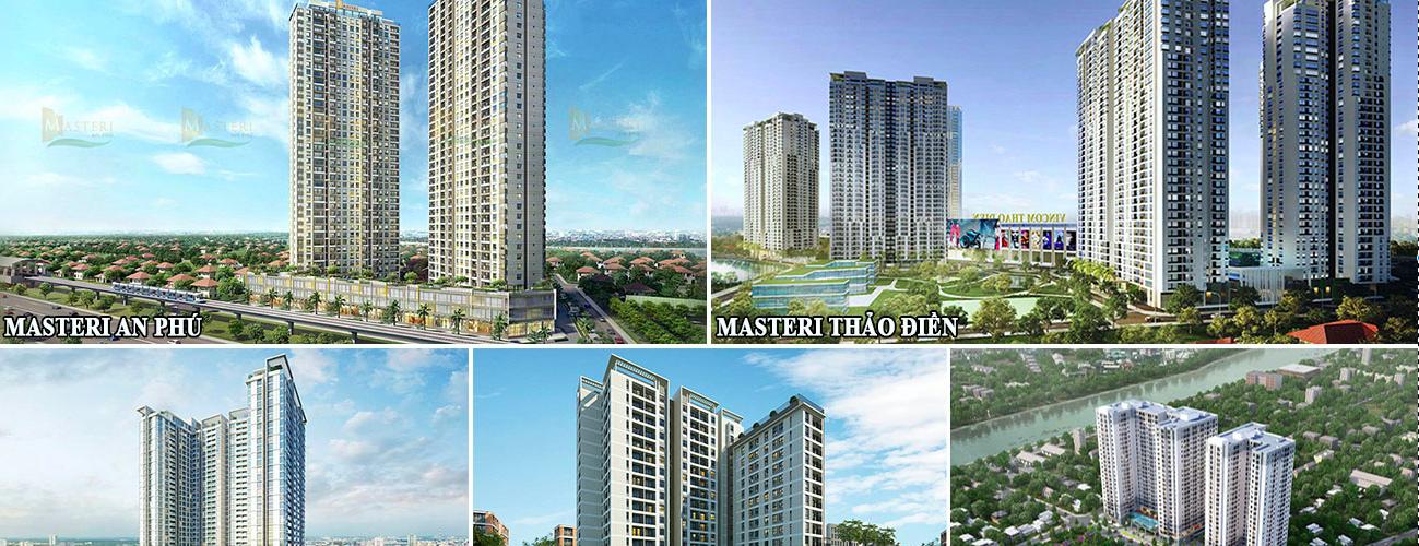 Danh sách dự án Masterise Homes