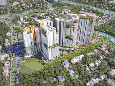 Aster Garden Towers tại Thuận An, Bình Dương.