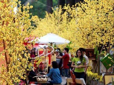 Lễ hội chợ Xuân Vinhomes