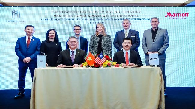 Marriott International và Masterise Homes xây dựng khu bất động sản hàng hiệu tại Việt Nam
