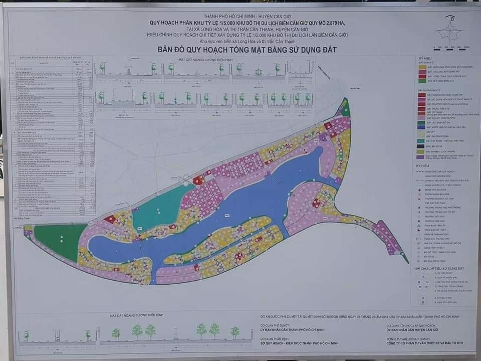 Thông tin Quy hoạch dự án Vinhomes Long Beach Cần Giờ