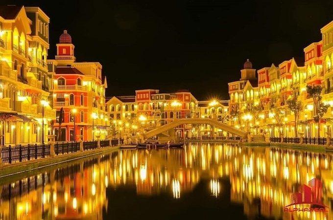 Buổi tối tại Grand World Phú Quốc