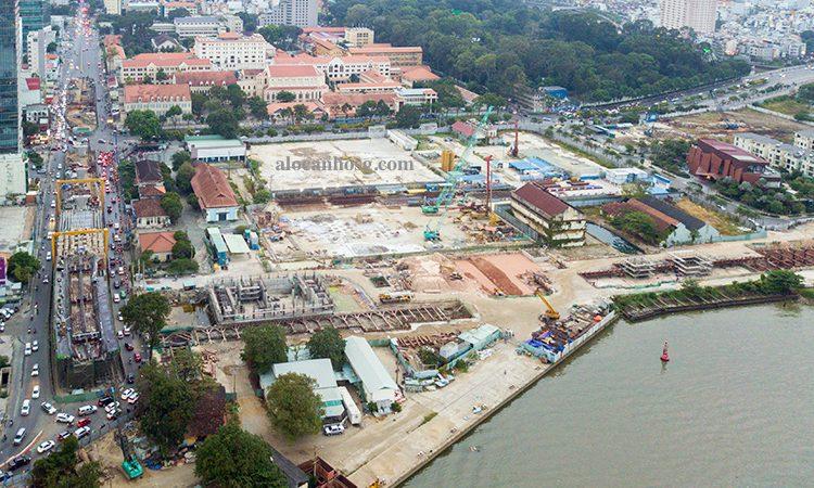 pháp lý khu đất tổ hợp dự án Ba Son - Sài Gòn, Quận 1