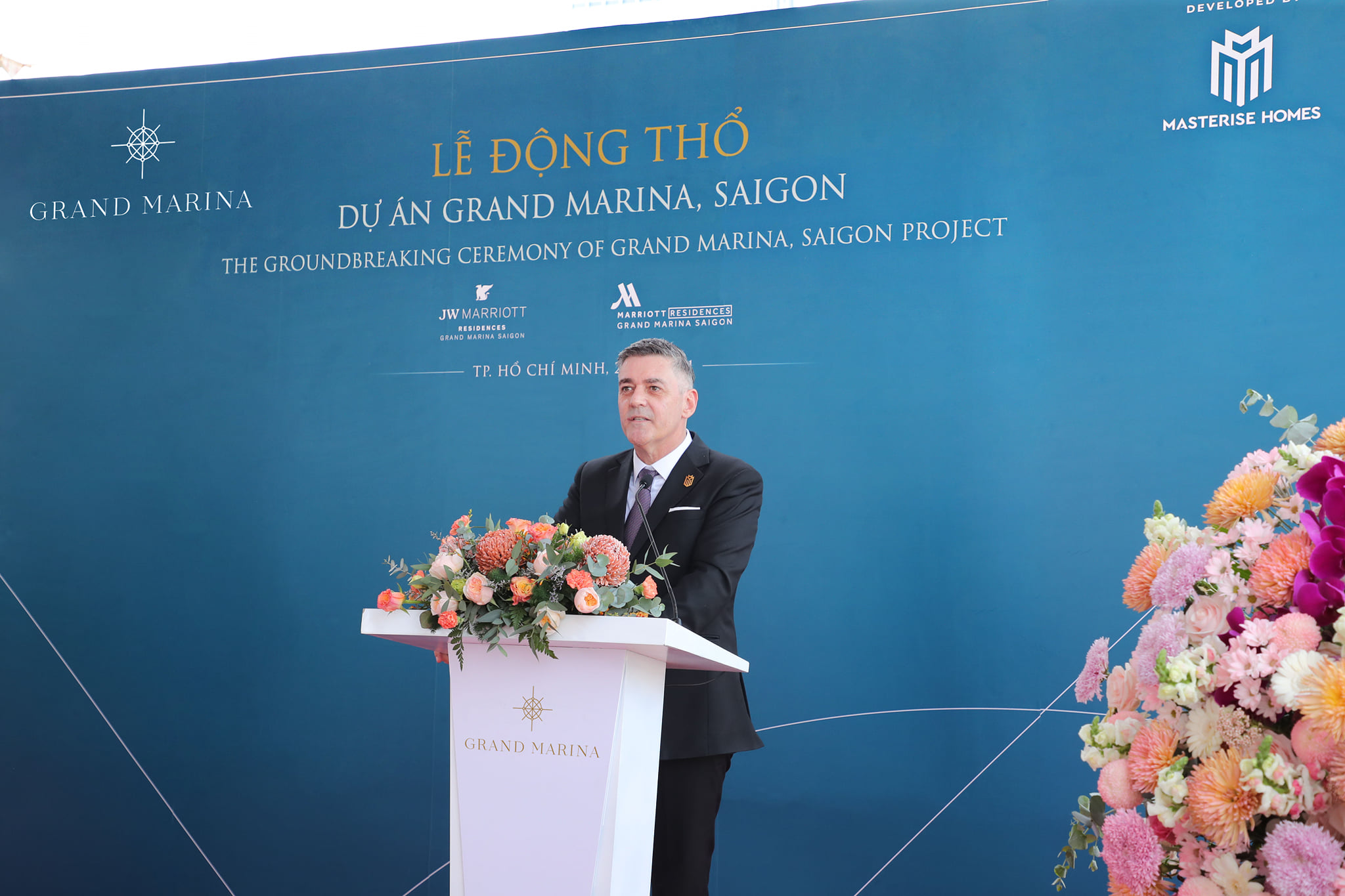 Lễ khởi công dự án Grand Marina Sài Gòn