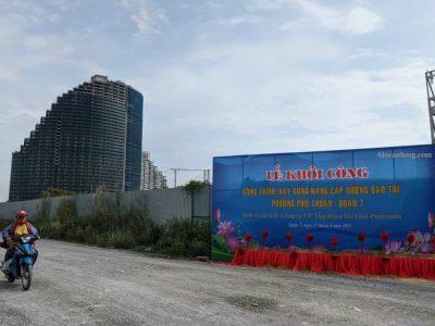 nâng cấp đường Đào Trí, phường Phú Thuận, quận 7 lên 40m