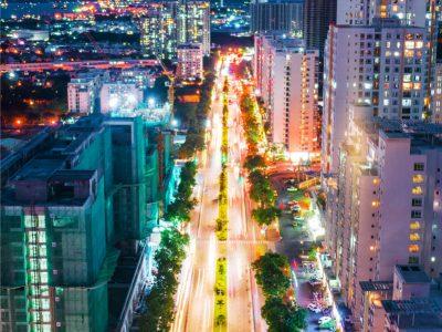 đường Nguyễn Lương Bằng - Phú Mỹ Hưng