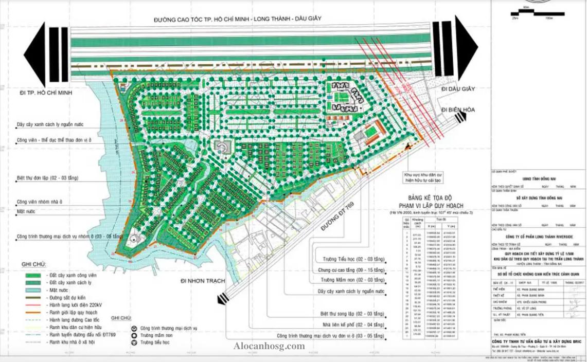 Quy hoạch Quy hoạch khu đô thị ID Junction Long Thành