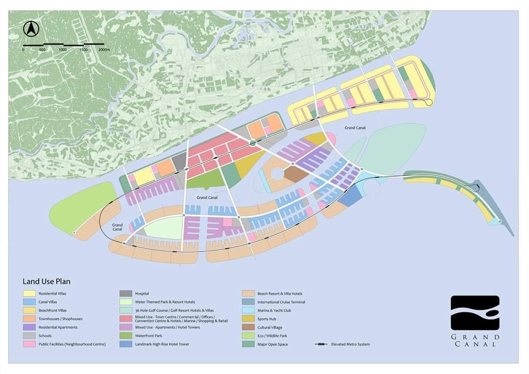 quy hoạch vinhomes long beach cần giờ