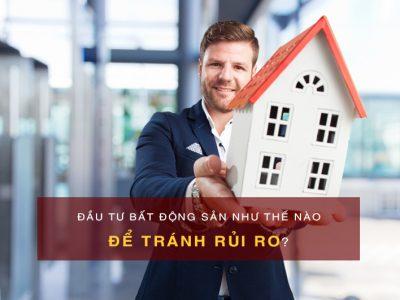 tránh rủi ro đầu tư bất động sản