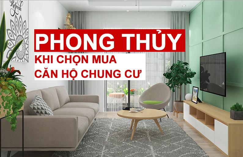 nguyên tắc phong thủy trong việc chọn mua căn hộ chung cư