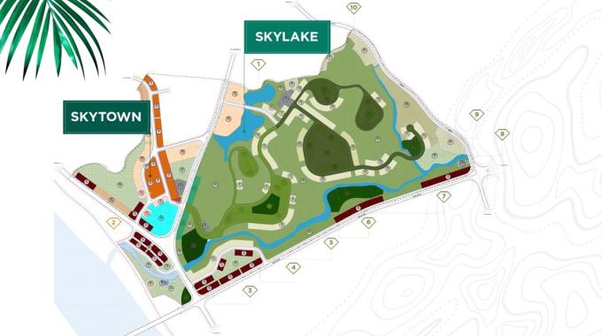 SkyTown và SkyLake